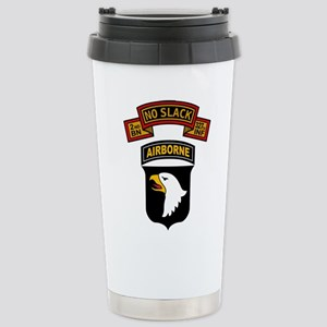 2-327th - 101st Stainless Steel Travel Mug