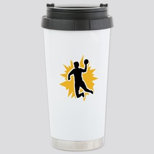 Dodgeball player Stainless Steel Travel Mug