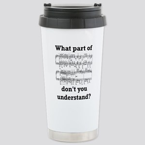 The Musician Stainless Steel Travel Mug