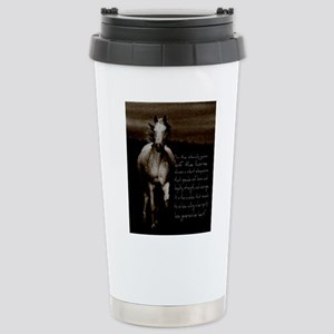 The Horse Stainless Steel Travel Mug