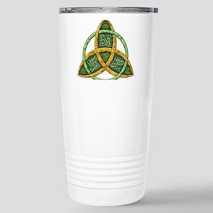 Celtic Trinity Knot Stainless Steel Travel Mug