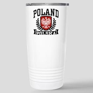 Poland Polska Stainless Steel Travel Mug