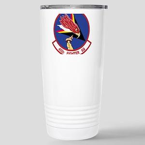 492nd FS Stainless Steel Travel Mug