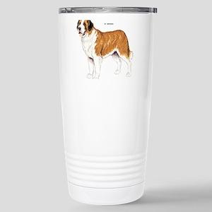 St. Bernard Dog Stainless Steel Travel Mug
