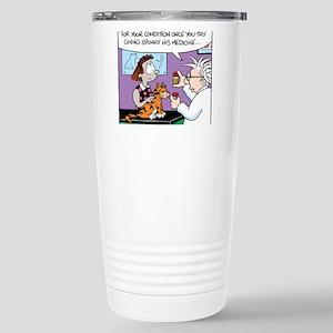 Cat Owner Medicine Large Mugs