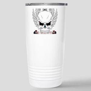 Rebel Skull Wings Travel Mug