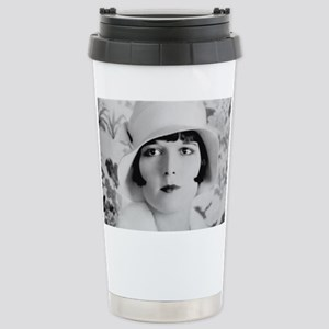 louise brooks silent mo Stainless Steel Travel Mug
