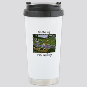 John Muir Trail Stainless Steel Travel Mug