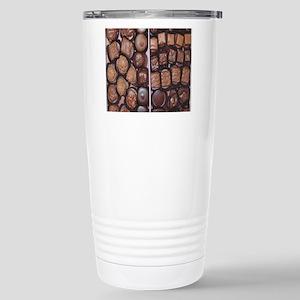 Chocolate Candy Flip Fl Stainless Steel Travel Mug