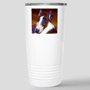 Miniature Bull Terrier Stainless Steel Travel Mug