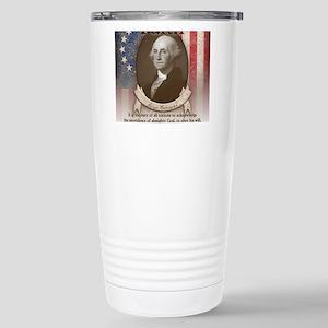 George Washington - Faith Travel Mug