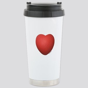 Dodgeball Love Stainless Steel Travel Mug