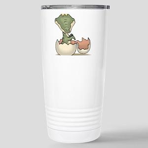 Alligator Baby Hatching Stainless Steel Travel Mug