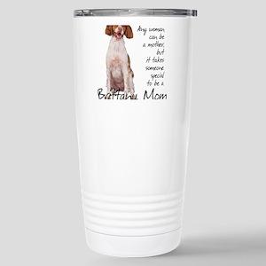 Brittany Mom Stainless Steel Travel Mug