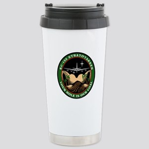 Your Hole is our Goal Stainless Steel Travel Mug