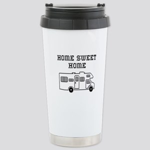 Home Sweet Home Mini Motorhome Stainless Steel Tra