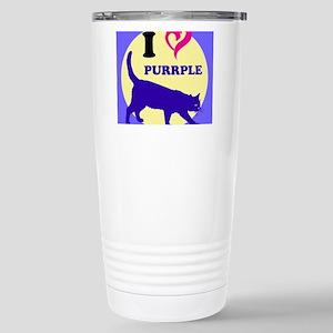 Purrple Stainless Steel Travel Mug