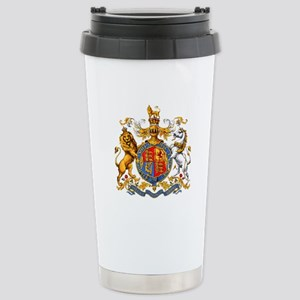 Royal Coat Of Arms Stainless Steel Travel Mug