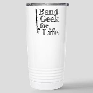 Bass Clarinet Band Geek Stainless Steel Travel Mug