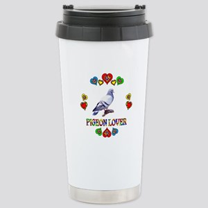 Pigeon Lover Stainless Steel Travel Mug