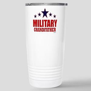 Military Grandfather Stainless Steel Travel Mug