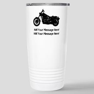 Personalize It, Motorcycle Travel Mug
