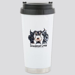 Miniature Schnauzer Lover Stainless Steel Travel M