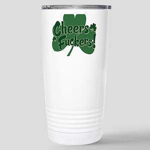 Irish Toast Stainless Steel Travel Mug