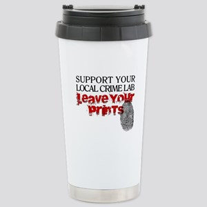 Crime Lab - Leave Your Stainless Steel Travel Mug