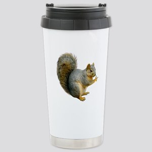 Peace Squirrel Stainless Steel Travel Mug