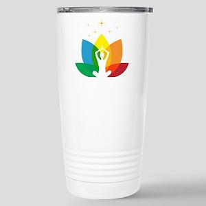 Audacity Yoga Stainless Steel Travel Mug