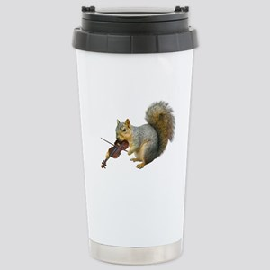 Squirrel Violin Stainless Steel Travel Mug