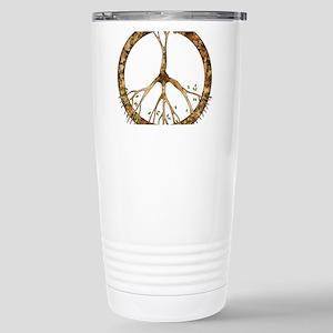 Peace Tree Stainless Steel Travel Mug Mugs