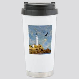 Lighthouse7100 Stainless Steel Travel Mug