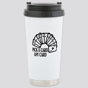 Pick A Card Stainless Steel Travel Mug