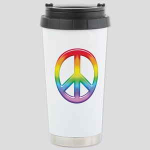 rainbow_peace Stainless Steel Travel Mug