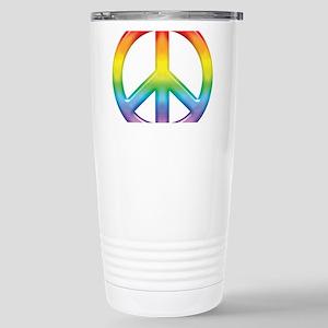 rainbow_peace Stainless Steel Travel Mug