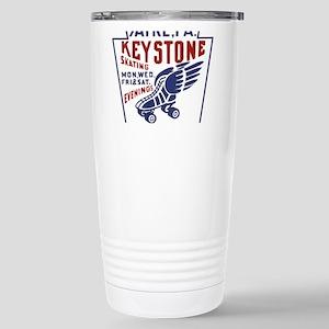 Keystone Roller Rink Stainless Steel Travel Mug