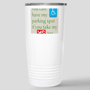 10 x 10 HandicapParking Stainless Steel Travel Mug