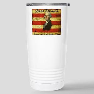 Washington Stainless Steel Travel Mug