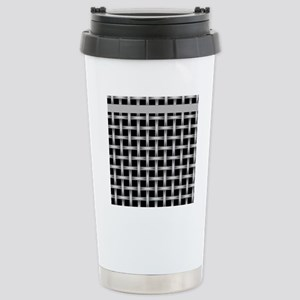 Black and Gray Stainless Steel Travel Mug