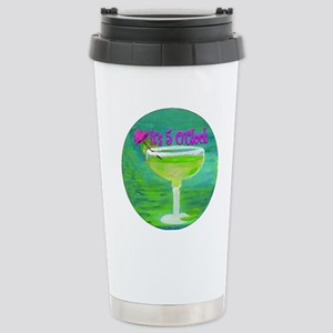 5 OClock Margarita Stainless Steel Travel Mug