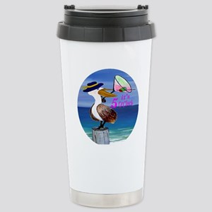 Its 5 OClock Martini Pe Stainless Steel Travel Mug