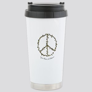 Give Bees A Chance Stainless Steel Travel Mug