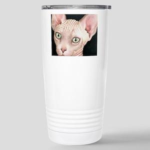 Cat 412 sphynx Stainless Steel Travel Mug