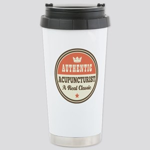 Acupuncturist Funny Vin Stainless Steel Travel Mug
