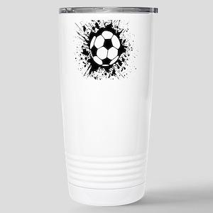 soccer splats Travel Mug