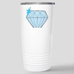 Diamond Stainless Steel Travel Mug