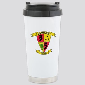 3rd Battalion 5th Marines Stainless Steel Travel M