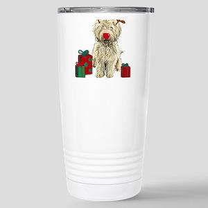 Merry Doodle Christmas Mugs